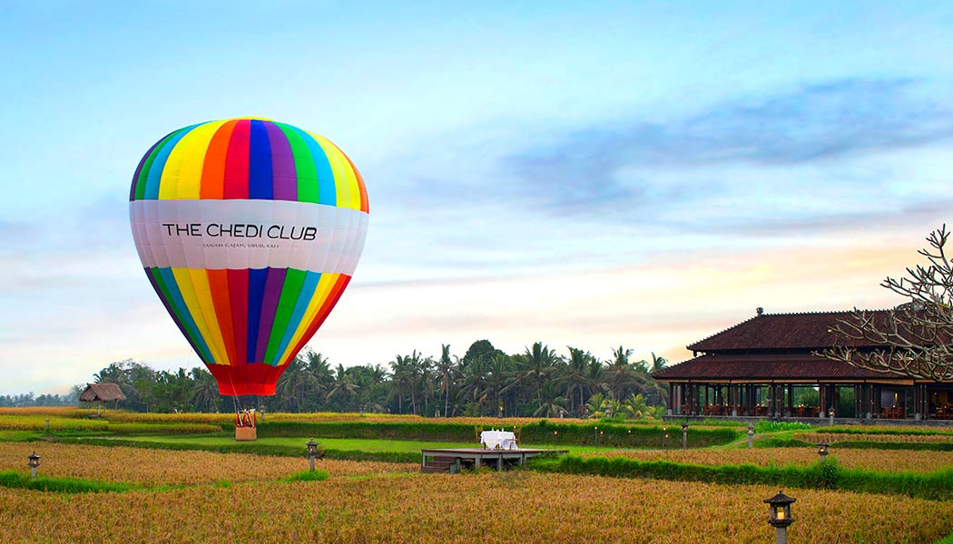 Balloons Over Bali At The Chedi Club Tickets
